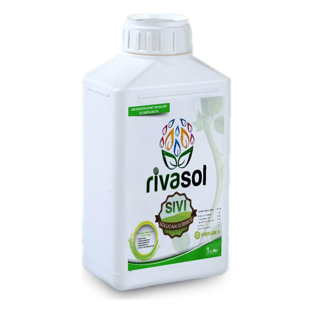 Rivasol 1 Litre %100 Organik Sıvı Solucan Gübresi