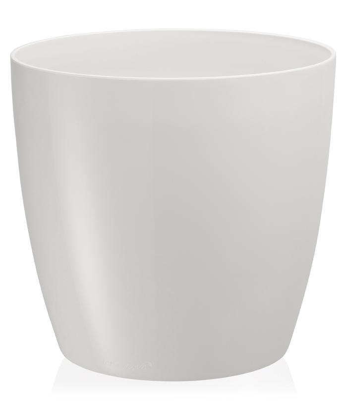 Yakut Saksı 33 LT - Kirli Beyaz Renk (Parlak)