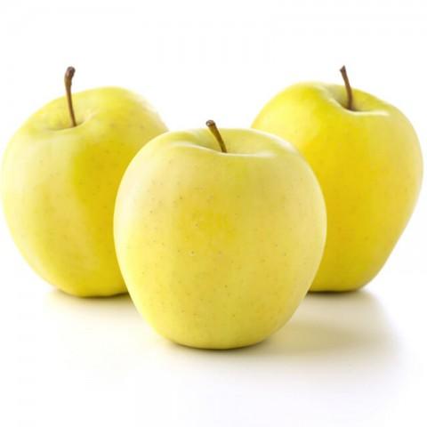 Aşılı Golden Delicious Elma Fidanı (Sarı Elma) -Açık Köklü-