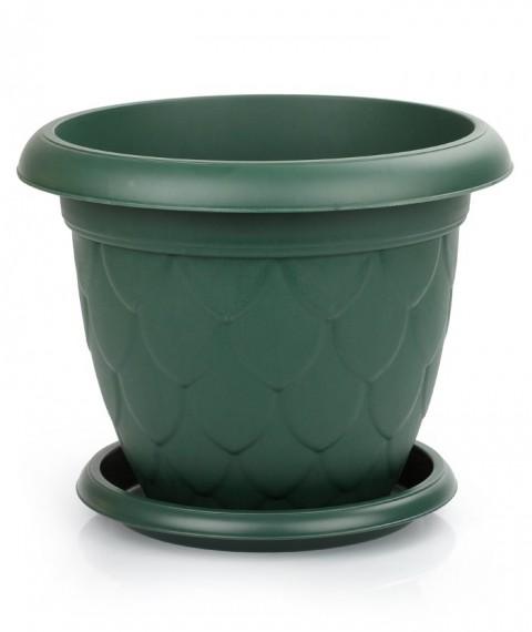 Damla Saksı 25 Litre - Yeşil Renk