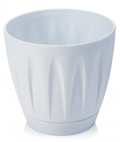 Papatya Saksı 22 Litre - Beyaz Renk