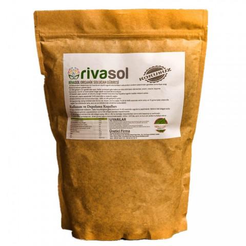 Rivasol 1 Kg Doğal Solucan Gübresi Kraft Paket